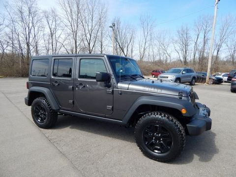 New JEEP Wrangler JK Unlimited Willys Wheeler W