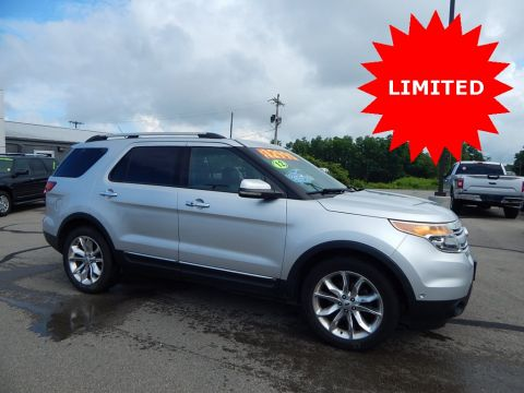 Pre-Owned 2012 Ford Explorer Limited