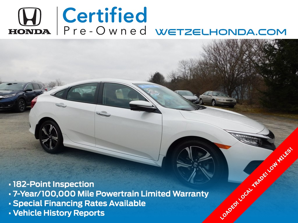 Pre-Owned 2017 Honda Civic Touring
