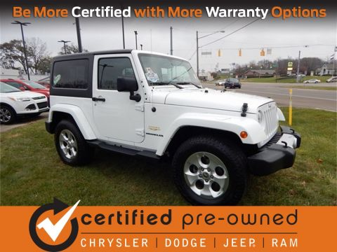 Certified Pre-Owned 2015 Jeep Wrangler Sahara