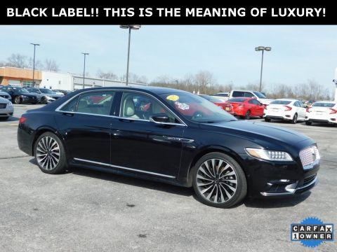 Pre-Owned 2017 Lincoln Continental Black Label