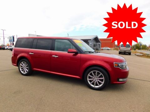 Pre-Owned 2013 Ford Flex Limited